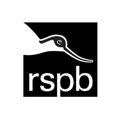RSPB logo black and white