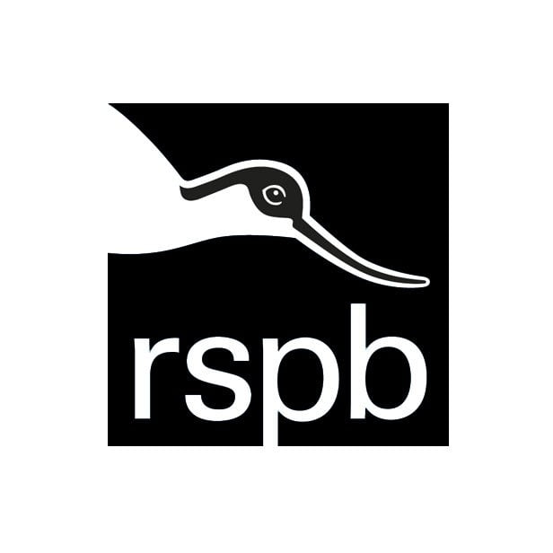 RSPB logo black and white