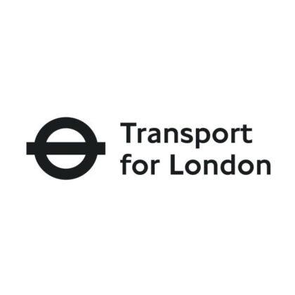 Transport for London logo black and white