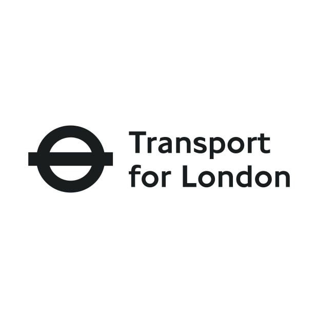Transport for London logo black and white