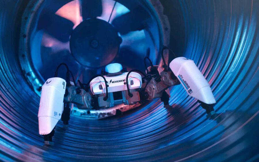 brand film production reach robotics | mekamon