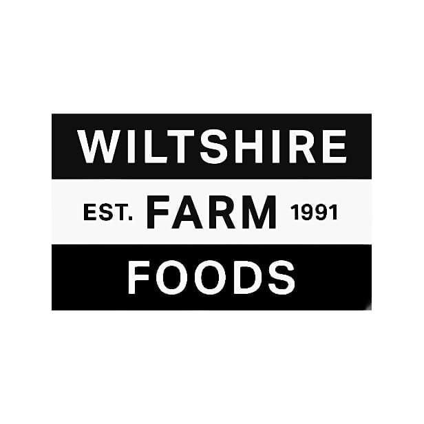 Wiltshire Farm Foods logo black and white